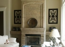 Overmantel Pacifica with Pinnacle