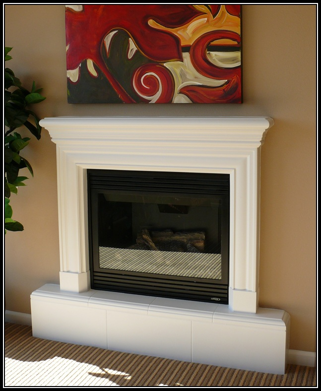 Raised Hearth Fireplace Designs: 8″ Raised Hearth
