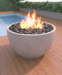 36 in Fire Bowl
