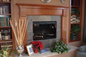 Newport Wood Mantel Surround Cherry