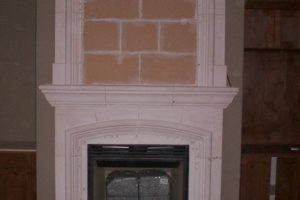 Paintgrade Capitola with Capitola Overmantel