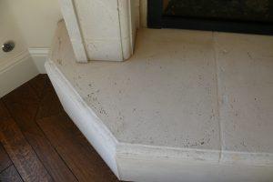 hearth tile Clipped corner