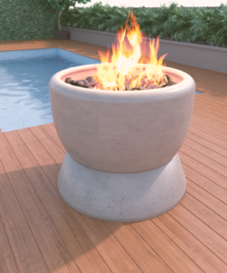 27 Fire Bowl w Stand