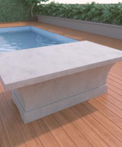 Overhang Linear Designer Table